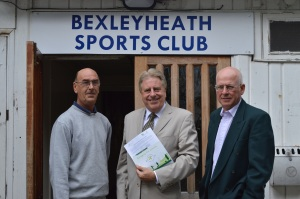 Visit to Bexleyheath Sports Club, 14 September 2012