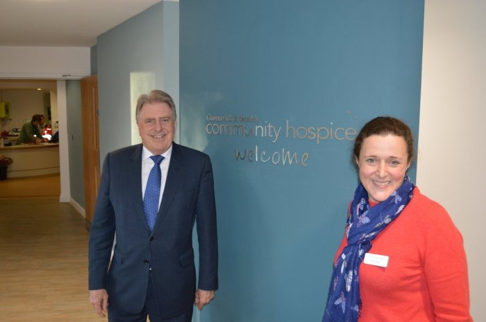Meeting the Greenwich and Bexley Hospice Chief Executive