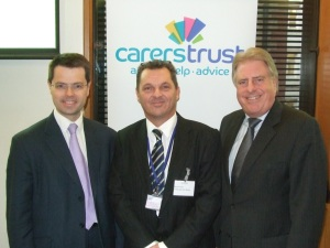 James Brokenshire MP, Darren Tobin, David Evennett MP