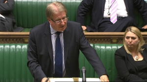 Speaking from the Despatch Box