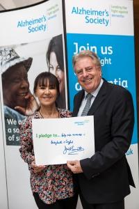 David Evenett MP with Arelene Philips (2)