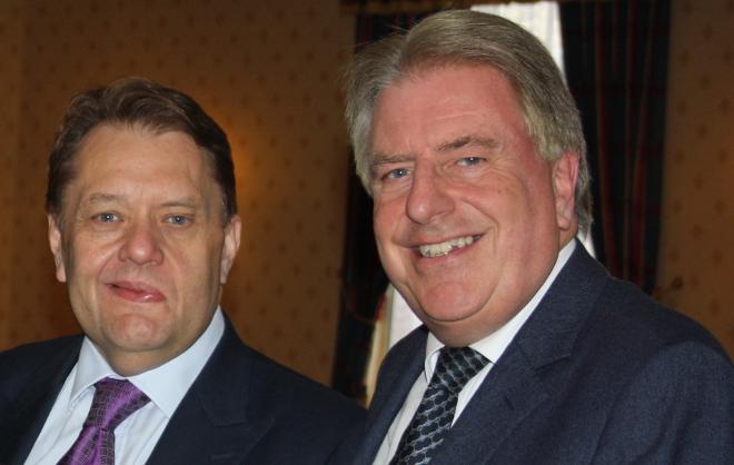 David and John Hayes at Bexleyheath Conservative Club