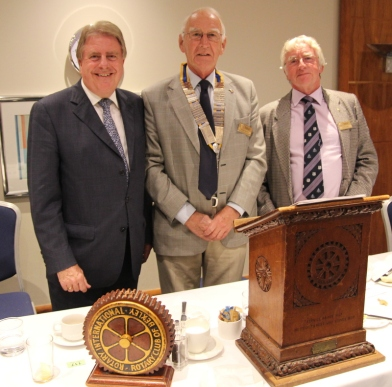 David Evennett MP at Bexley Rotary