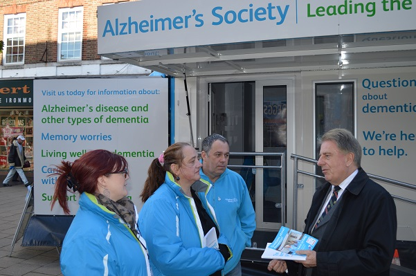 Alzheimer's Society Road Show