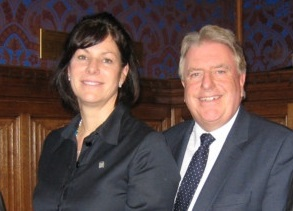 Claire Perry MP and Rt Hon David Evennett MP