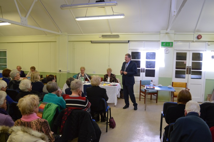 Speaking to Erith WI