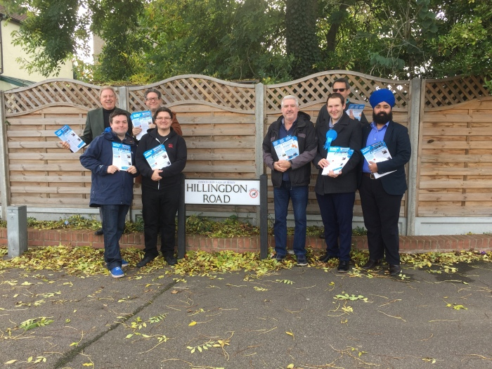 Barnehurst Canvassing October 2017