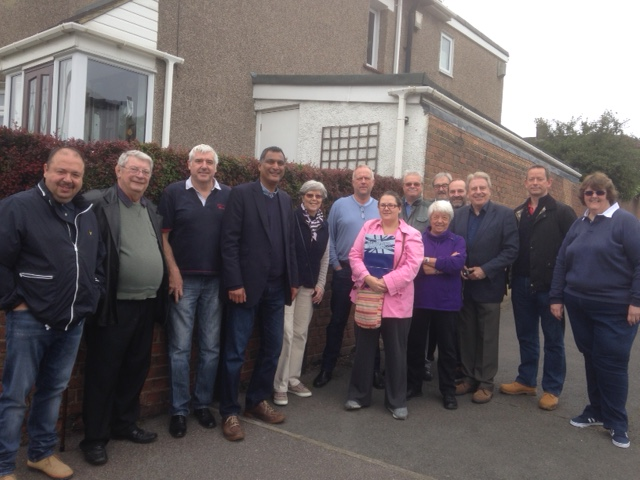 Canvassing in St Michaels 4 June 2016