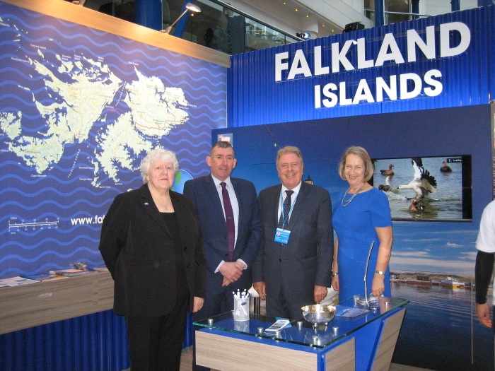 Meeting with representatives from Falkland Islands Government Office at the Conservative Party Conference