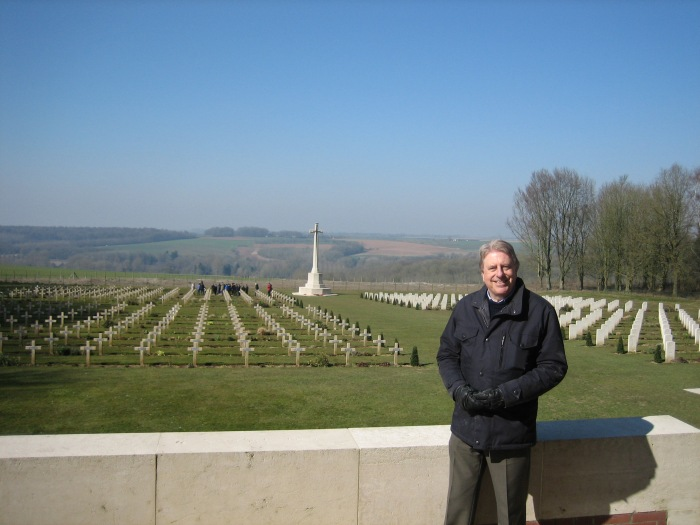 Paying respects at the Thiepval war graves ahead of the Somme commemoration