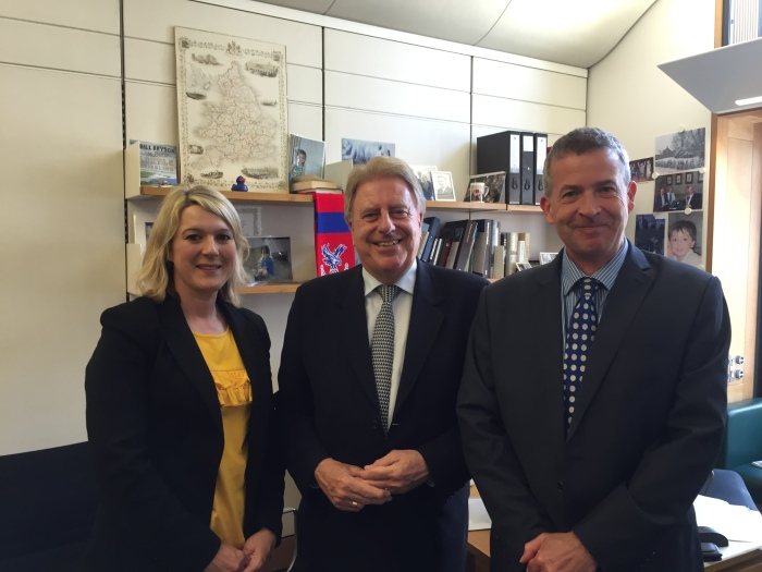 Meeting Alice Barnard and Nicolas Heslop from the Edge Foundation to discuss education issues