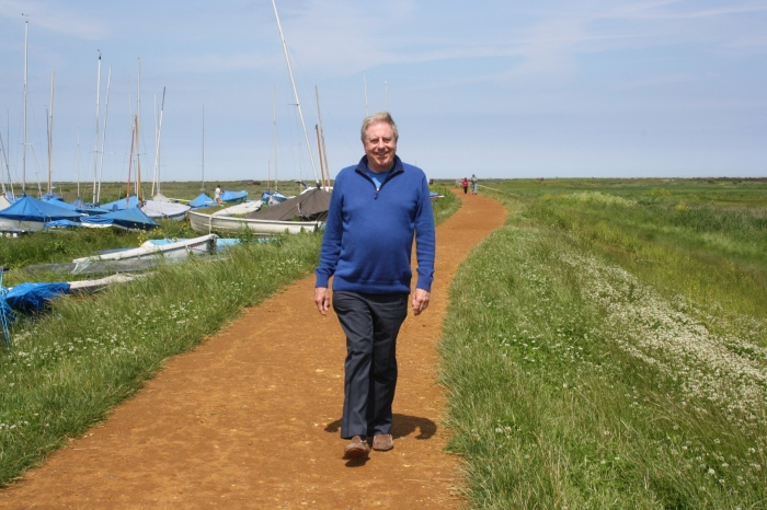 At Blakeney Point as the Tourism Minister during a visit to Norfolk to look at the tourism offer.