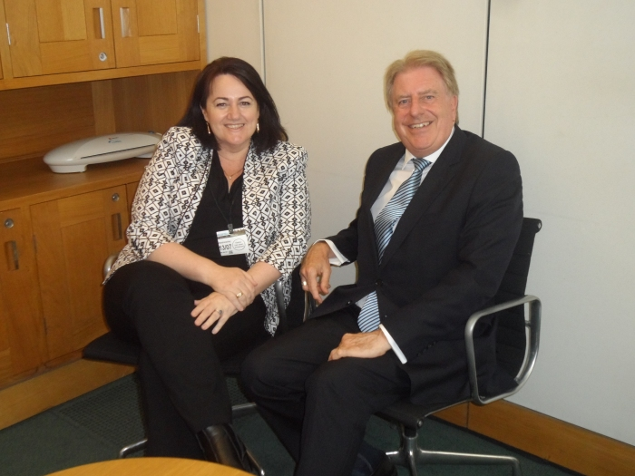 Meeting Dee Ryall, an Australian politician who serves as the MP for Ringwood in the Victorian Legislative Assembly