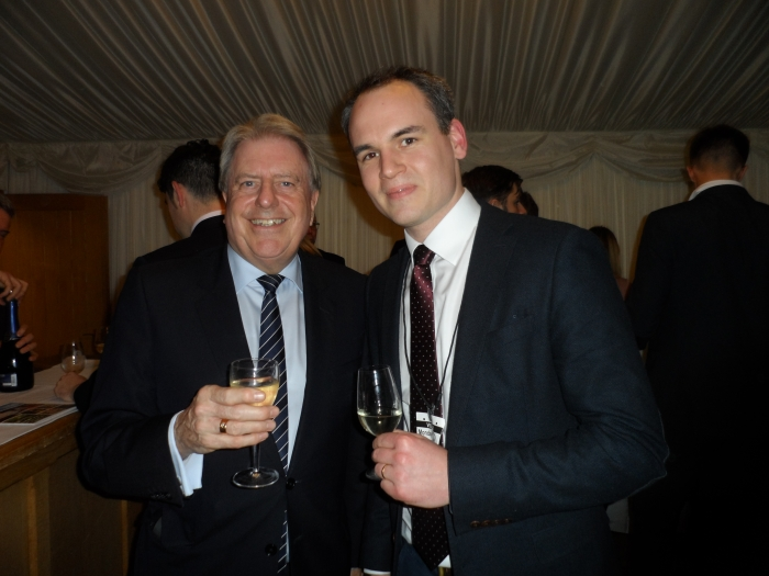 With Kit Ellen at an event in Parliament to support English wine