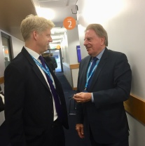 With Jo Johnson Conference 2017