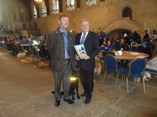 Guide Dog Lobby of Parliament 25 May 2016