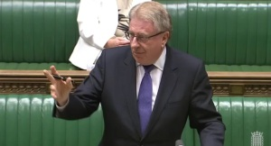 Rt Hon David Evennett MP speaking in the debate