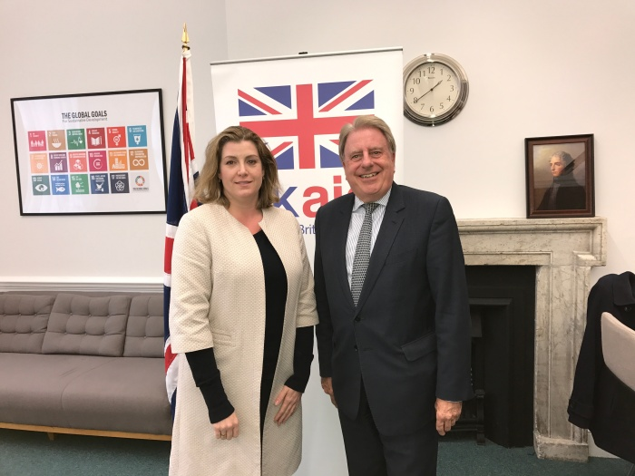 With Penny Mordaunt November 2017 (3).JPG