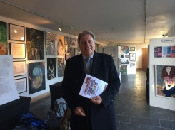 Visiting the Centrepieces' Art Exhibition