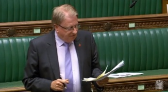 Speaking in Budget debate 29 October 2018 (© Parliamentary Recording Unit).jpg
