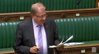 Speaking in Budget debate 29 October 2018 (© Parliamentary Recording Unit).jpg