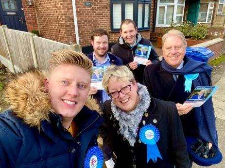 Thurrock campaigning 19 November 2019
